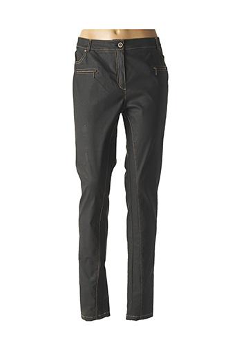 Jeans coupe droite noir MERI & ESCA pour femme