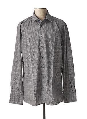Chemise manches longues gris CHATEL pour homme