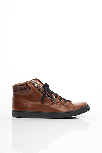 Bottines/Boots marron CHACAL pour femme