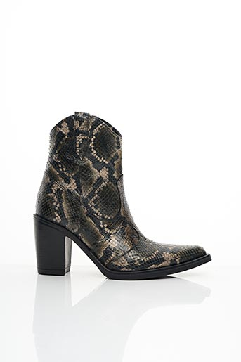 Bottines/Boots vert EMANUELE CRASTO pour femme