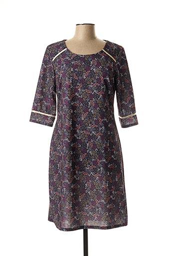Robe mi-longue violet FILLE A SUIVRE pour femme
