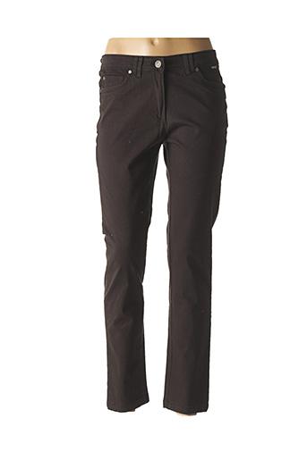 Jeans coupe droite noir AGATHE & LOUISE pour femme