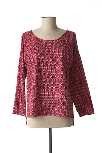T-shirt manches longues violet AGATHA pour femme