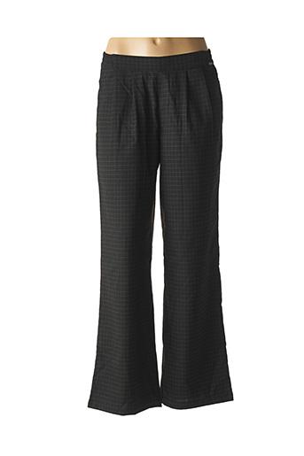 Pantalon chic noir AGATHE & LOUISE pour femme