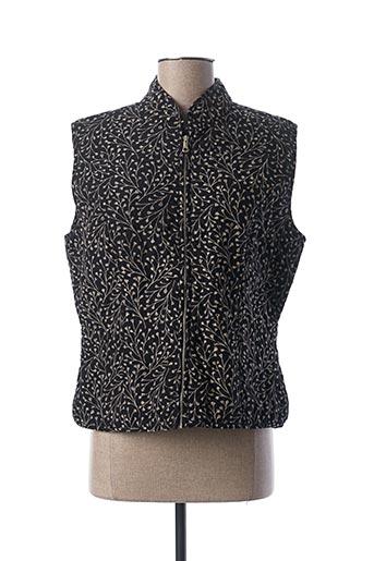 Veste casual noir AGATHE & LOUISE pour femme
