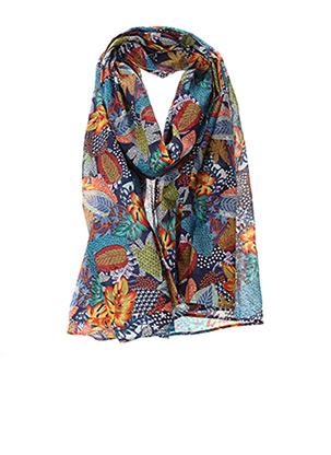 Foulard bleu COLINE pour femme