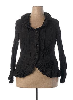 Veste casual noir L33 pour femme