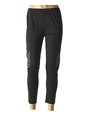 Legging noir L33 pour femme seconde vue
