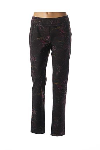 Pantalon casual noir BEATE HEYMANN pour femme