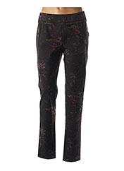 Pantalon casual noir BEATE HEYMANN pour femme seconde vue