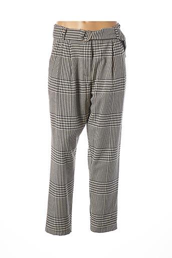 Pantalon chic noir B.YU pour femme