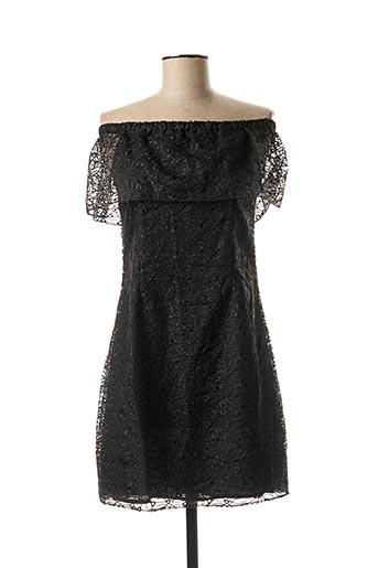 Robe courte noir FEE RED pour femme