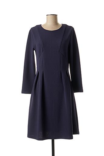 Robe mi-longue bleu AKOZ DE TOI pour femme