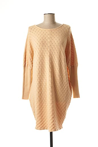 Robe pull orange MC LORENE pour femme