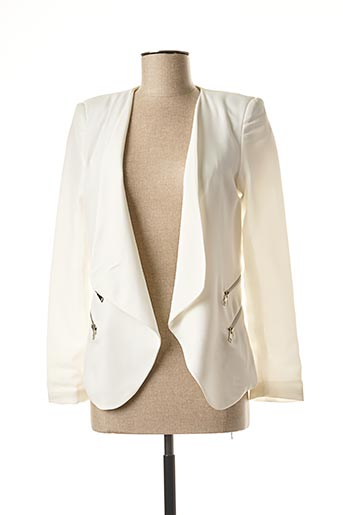 Veste chic / Blazer blanc LINA pour femme