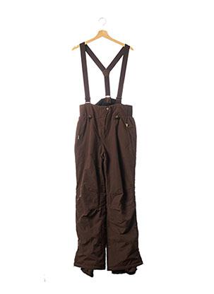 Pantalon casual marron NAPAPIJRI pour homme