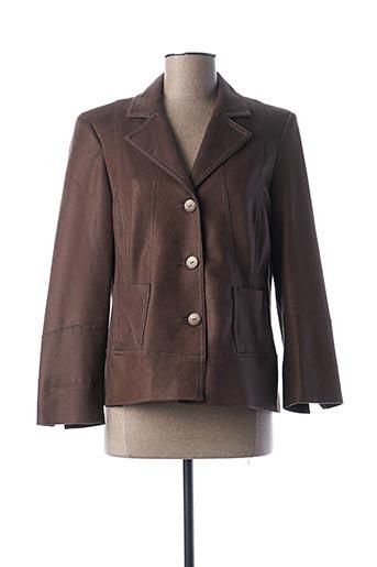 Veste chic / Blazer marron GUY DUBOUIS pour femme