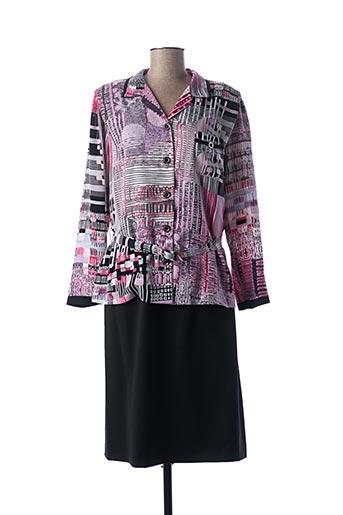 Veste/robe rose GUY DUBOUIS pour femme