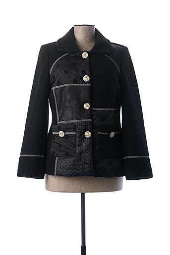 Veste casual noir GUY DUBOUIS pour femme
