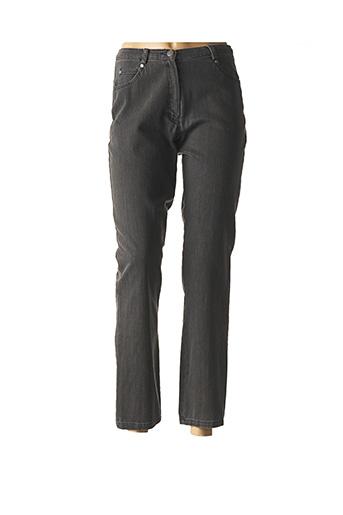 Pantalon 7/8 gris MERI & ESCA pour femme