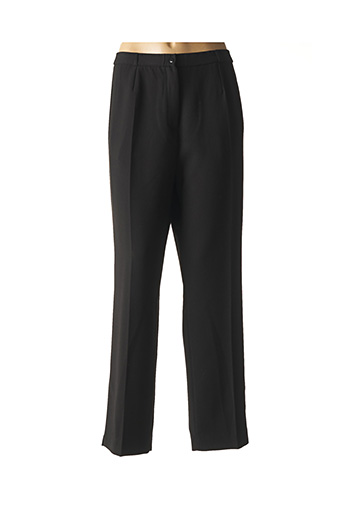 Pantalon chic noir PARISIENNES pour femme