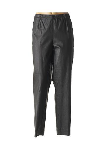 Pantalon casual noir CHALOU pour femme