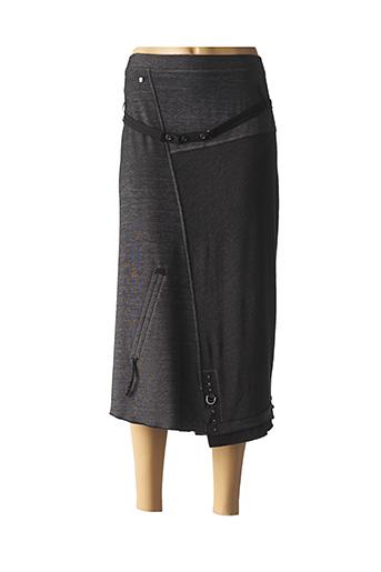 Jupe longue gris FRED SABATIER pour femme