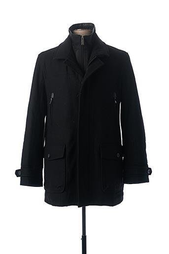 Manteau long noir PETER COFOX pour homme