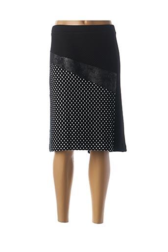 Jupe mi-longue bleu DIVA pour femme