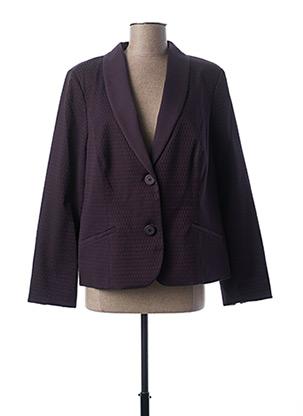 Veste chic / Blazer violet PAUPORTÉ pour femme