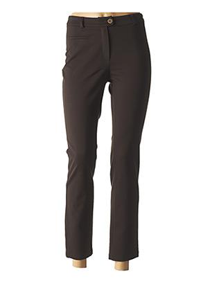 Pantalon 7/8 marron WEINBERG pour femme