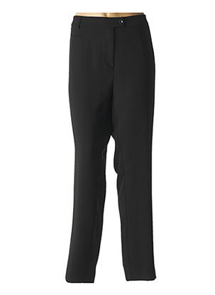 Pantalon casual noir WEINBERG pour femme
