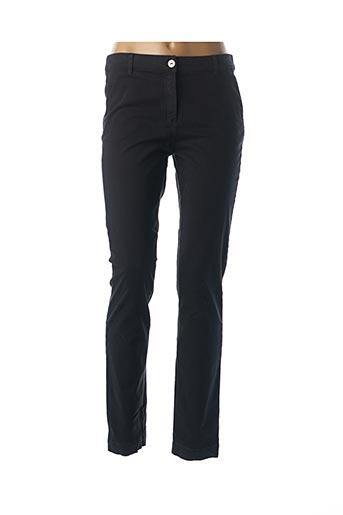 Pantalon casual noir FELINO pour femme