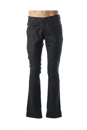 Pantalon casual noir ATELIER OSCAR pour homme
