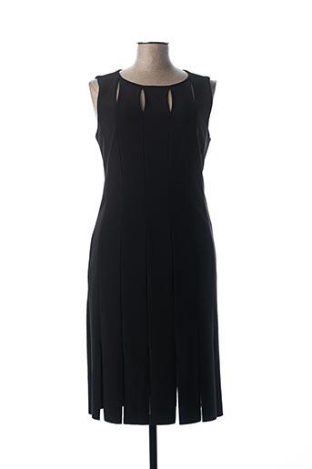 Robe mi-longue noir FRANK LYMAN pour femme