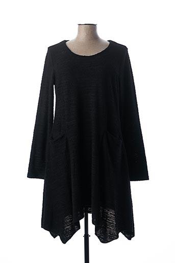 Robe pull noir LUUKAA pour femme