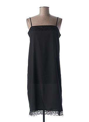Jupon /Fond de robe noir MY TWIN pour femme