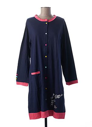 Chemise de nuit bleu ROSE POMME pour femme