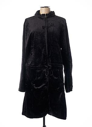 Robe de chambre noir ROSE POMME pour femme