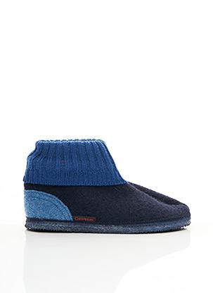 Chaussons/Pantoufles bleu GIESSWEIN pour homme