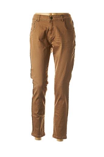 Pantalon casual marron PARA MI pour femme