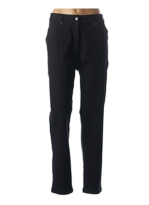 Pantalon casual noir MADO ET LES AUTRES pour femme