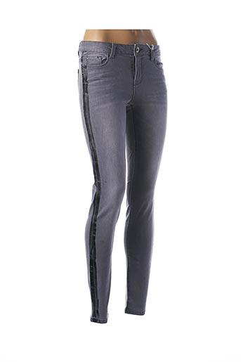 Jeans skinny gris PAKO LITTO pour femme