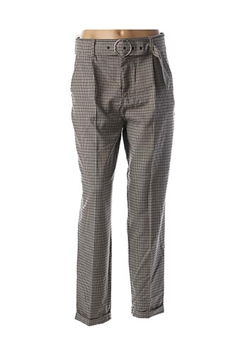 Pantalon chic gris SALSA pour femme