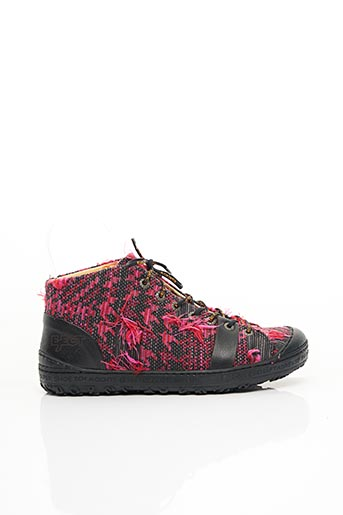 Baskets rose EJECT pour femme