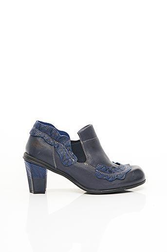 Bottines/Boots bleu EJECT pour femme
