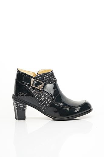 Bottines/Boots noir EJECT pour femme