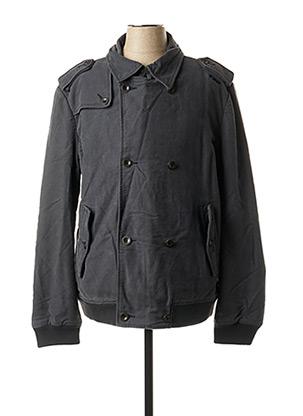 Manteau court gris ENERGIE pour homme