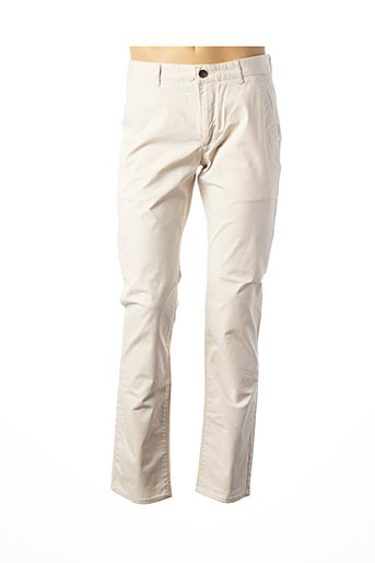 Pantalon casual beige FARAH pour homme