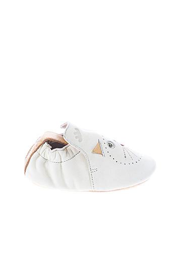 Chaussons/Pantoufles beige EASY PEASY pour garçon
